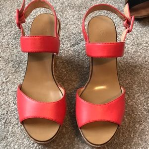 Jcrew factory wedges
